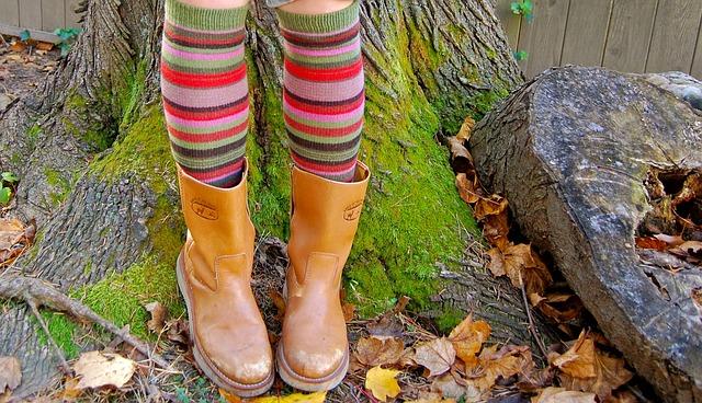 靴下ブーツ