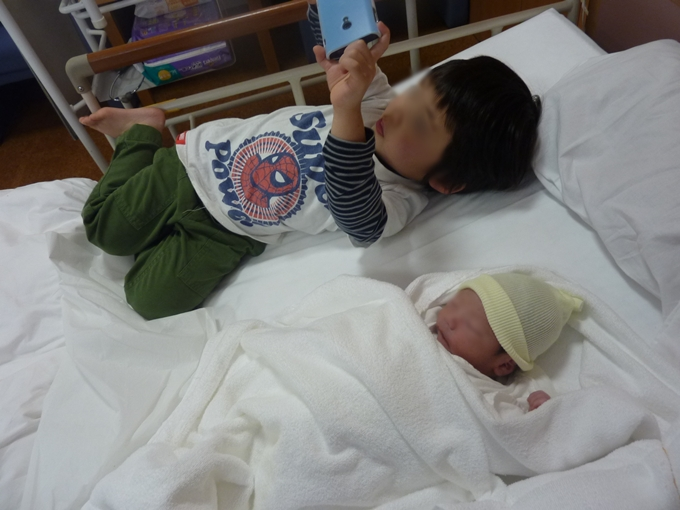 3rd son born