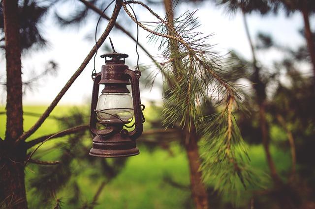 camp- lantern